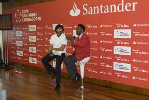 Presentación en España del futbolista PELÉ con Banco Santander